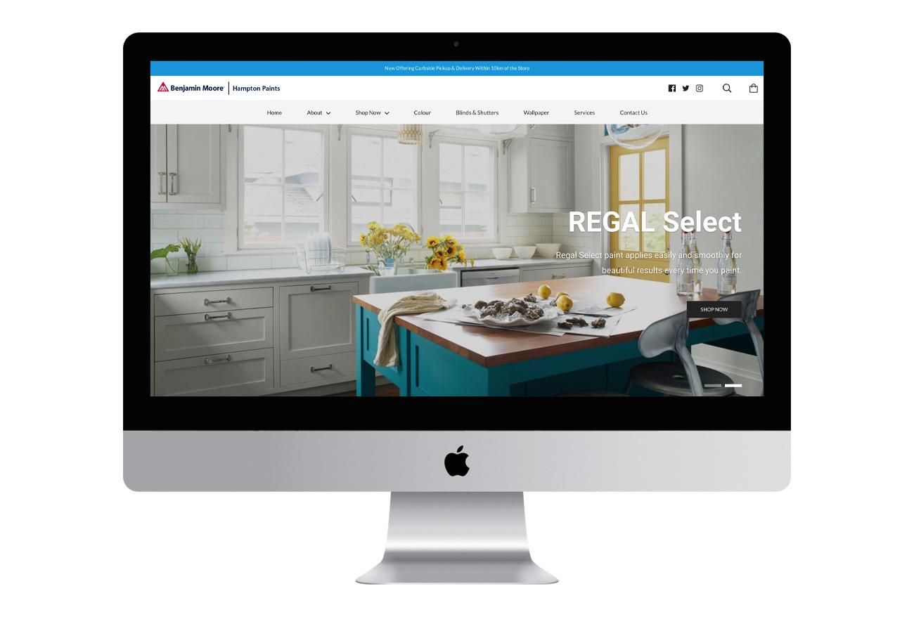 Benjamin Moore Online Store